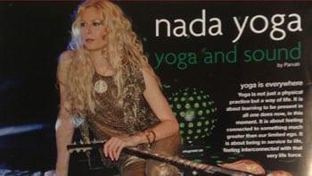 Parvati on Nada Yoga