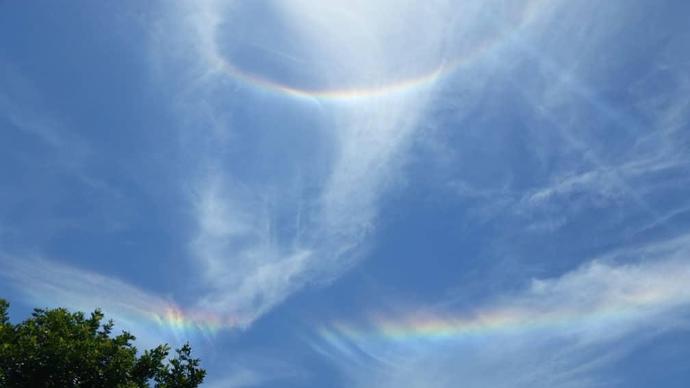 rainbow-halo